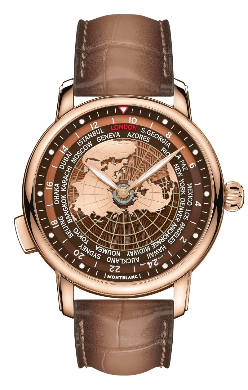 All The World In Your Wrist: The New Intuitive Timepiece By Montblanc montblanc The Whole World In Your Wrist: The New Montblanc's Intuitive Timepiece Montblanc Star Legacy Orbis Terrarum 6
