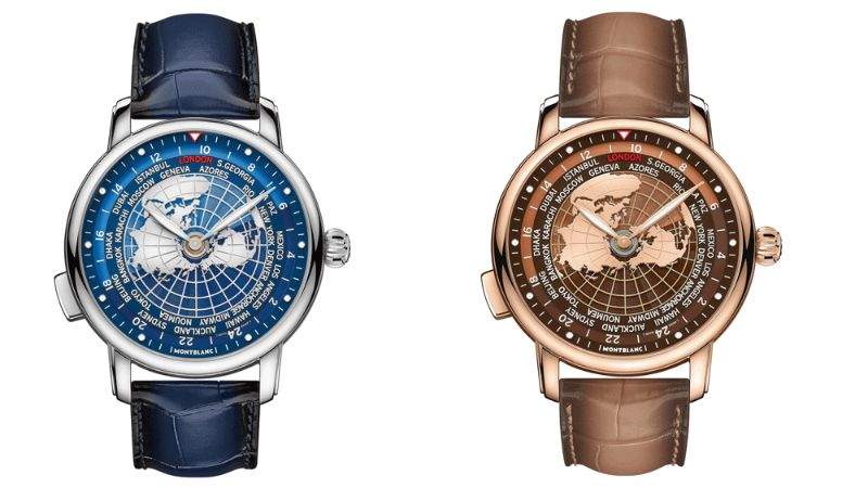 All The World In Your Wrist: The New Intuitive Timepiece By Montblanc montblanc The Whole World In Your Wrist: The New Montblanc's Intuitive Timepiece Montblanc Star Legacy Orbis Terrarum 8