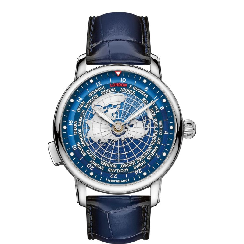 All The World In Your Wrist: The New Intuitive Timepiece By Montblanc montblanc The Whole World In Your Wrist: The New Montblanc's Intuitive Timepiece Montblanc Star Legacy Orbis Terrarum