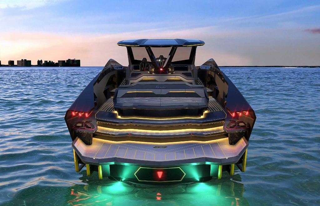 Tecnomar For Lamborghini 63: A Yacht That Looks Like A Supercar