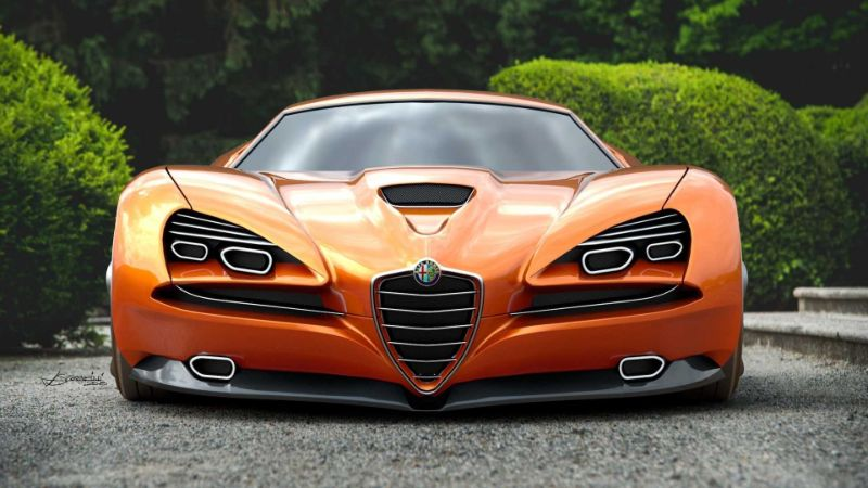 The Alfa Romeo's Montreal Vision GT: A Remarkable Supercar Concept alfa romeo The Alfa Romeo's Montreal Vision GT: A Remarkable Supercar Concept The Alfa Romeos Montreal Vision GT A Remarkable Supercar Concept 4
