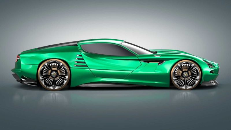 The Alfa Romeo's Montreal Vision GT: A Remarkable Supercar Concept alfa romeo The Alfa Romeo's Montreal Vision GT: A Remarkable Supercar Concept The Alfa Romeos Montreal Vision GT A Remarkable Supercar Concept 5