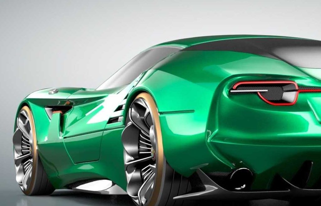 The Alfa Romeo's Montreal Vision GT: A Remarkable Supercar Concept