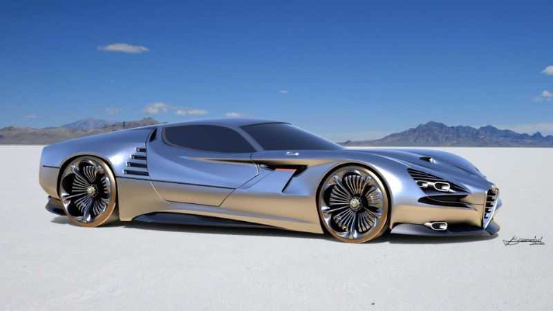 The Alfa Romeo's Montreal Vision GT: A Remarkable Supercar Concept alfa romeo The Alfa Romeo's Montreal Vision GT: A Remarkable Supercar Concept The Alfa Romeos Montreal Vision GT A Remarkable Supercar Concept 7