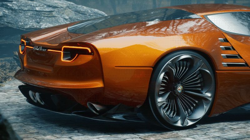 The Alfa Romeo's Montreal Vision GT: A Remarkable Supercar Concept alfa romeo The Alfa Romeo's Montreal Vision GT: A Remarkable Supercar Concept The Alfa Romeos Montreal Vision GT A Remarkable Supercar Concept 8