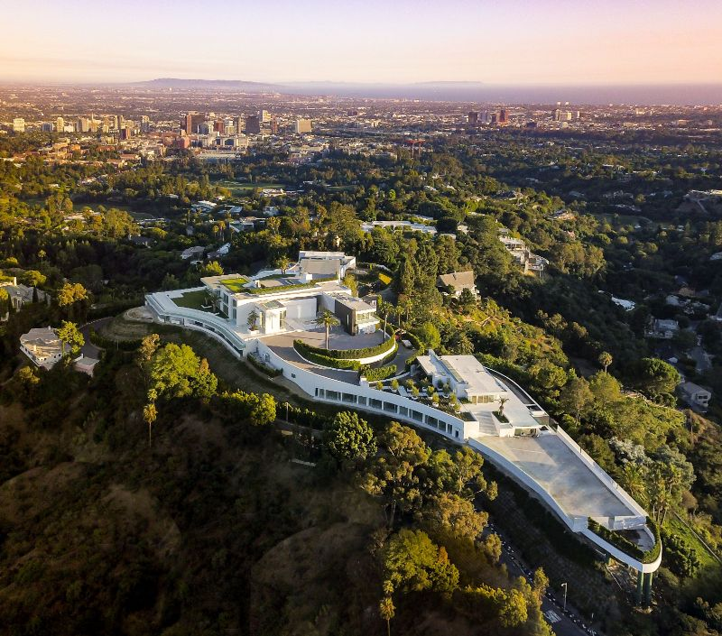 From London To Texas: The 10 Most Expensive Homes In The World expensive homes Top 10 Expensive Homes: Architectural Wonders Located Around The Globe The ONE Bel Air California