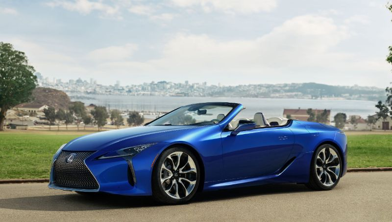 The Perfect Supercar For Summer: The New LC500 Convertible By Lexus lexus The Perfect Supercar For Summer: The New LC500 Convertible By Lexus The Perfect Supercar For Summer The New LC500 Convertible By Lexus 3