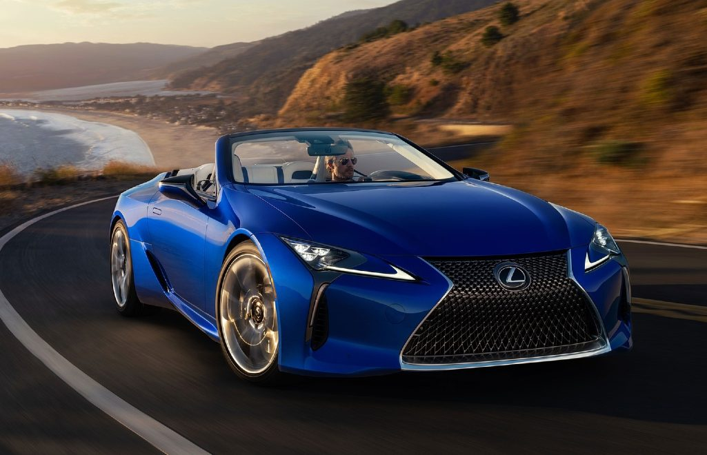 The Perfect Supercar For Summer: The New LC500 Convertible By Lexus