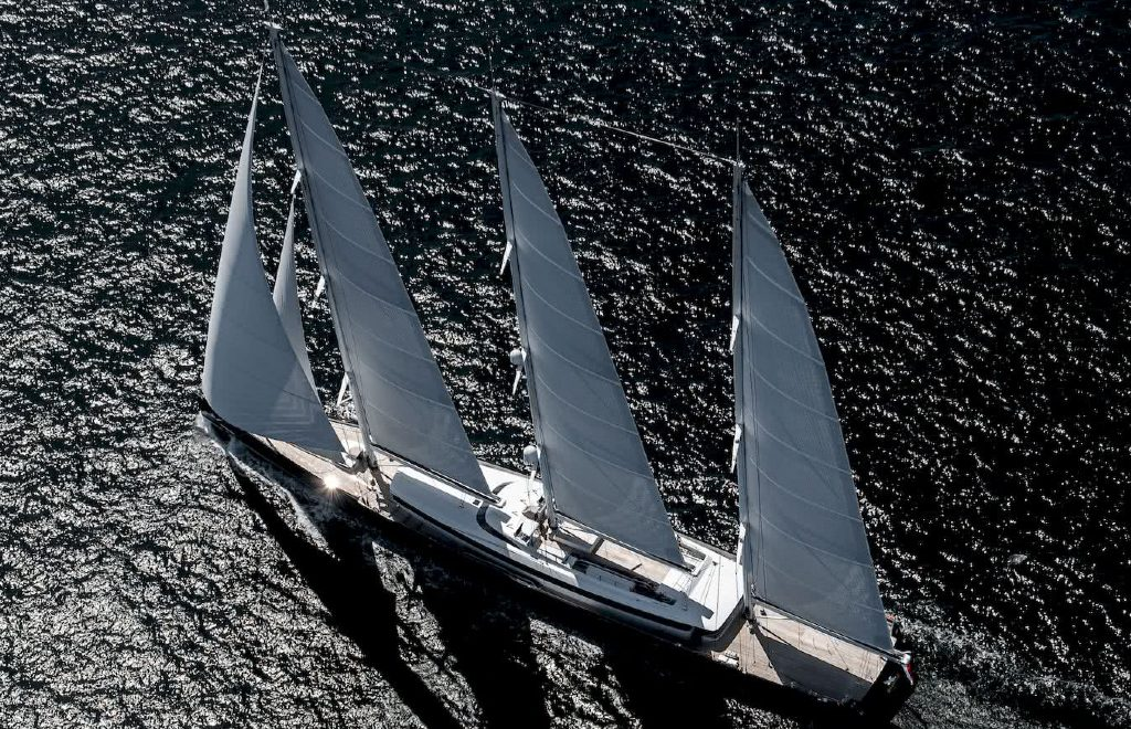 The Sea Eagle II: All About The Largest Aluminium Sailing Superyacht