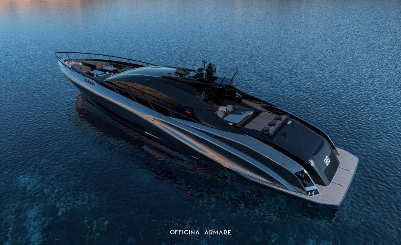 The Superyacht A88 GranSport: A Symbol Of Modern Design