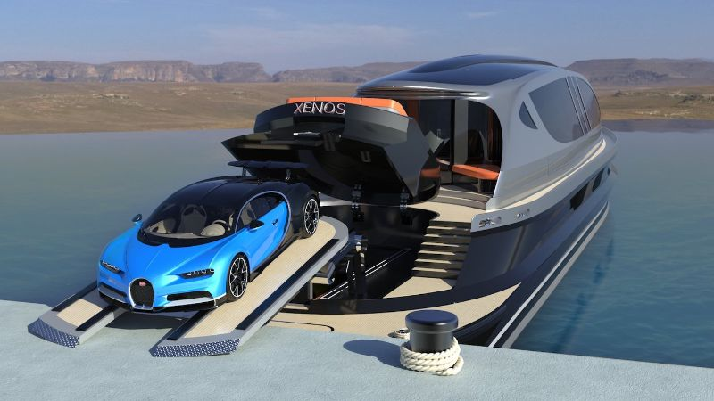 The Xenos By Bugatti: A Creative And Imposing Hyperyacht Concept xenos Inspired By Bugatti: The Xenos – An Imposing Hyper Yacht Concept The Xenos By Bugatti A Creative And Imposing Hyperyacht Concept 7