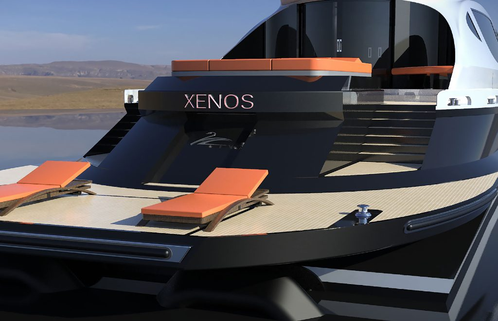 Inspired By Bugatti: The Xenos – An Imposing Hyper Yacht Concept