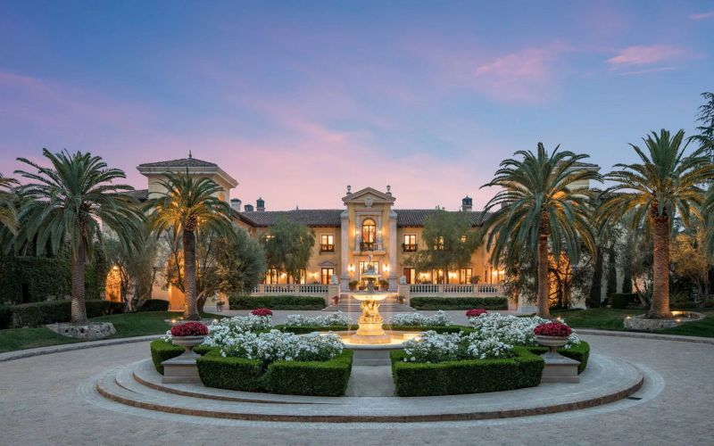 From London To Texas: The 10 Most Expensive Homes In The World expensive homes From London To Texas: The 10 Most Expensive Homes In The World Villa Firenze Beverly Park California