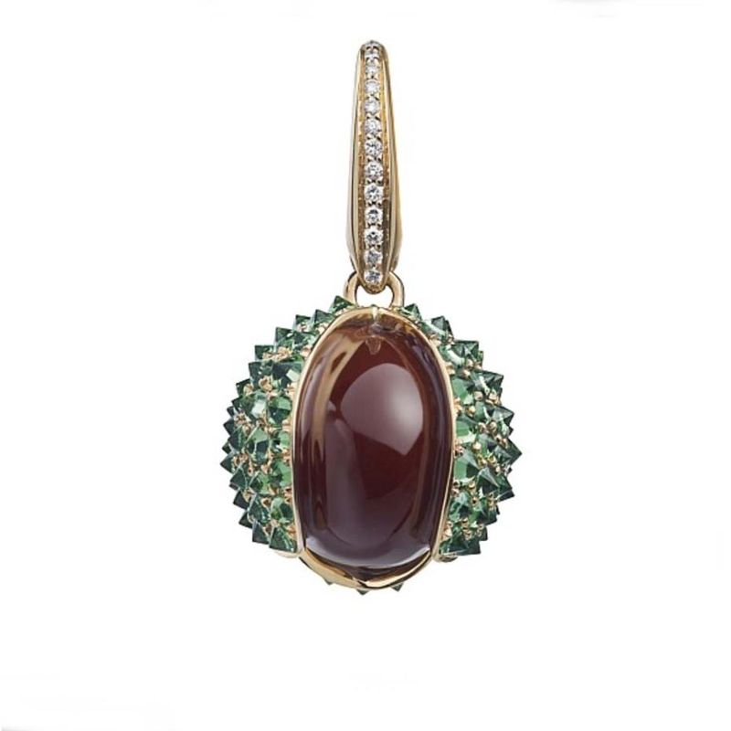 The Woodland Collection By Asprey: Jewelry With Naturalistic Forms asprey The Woodland Collection By Asprey: Jewelry With Naturalistic Forms Woodland Conker Charm