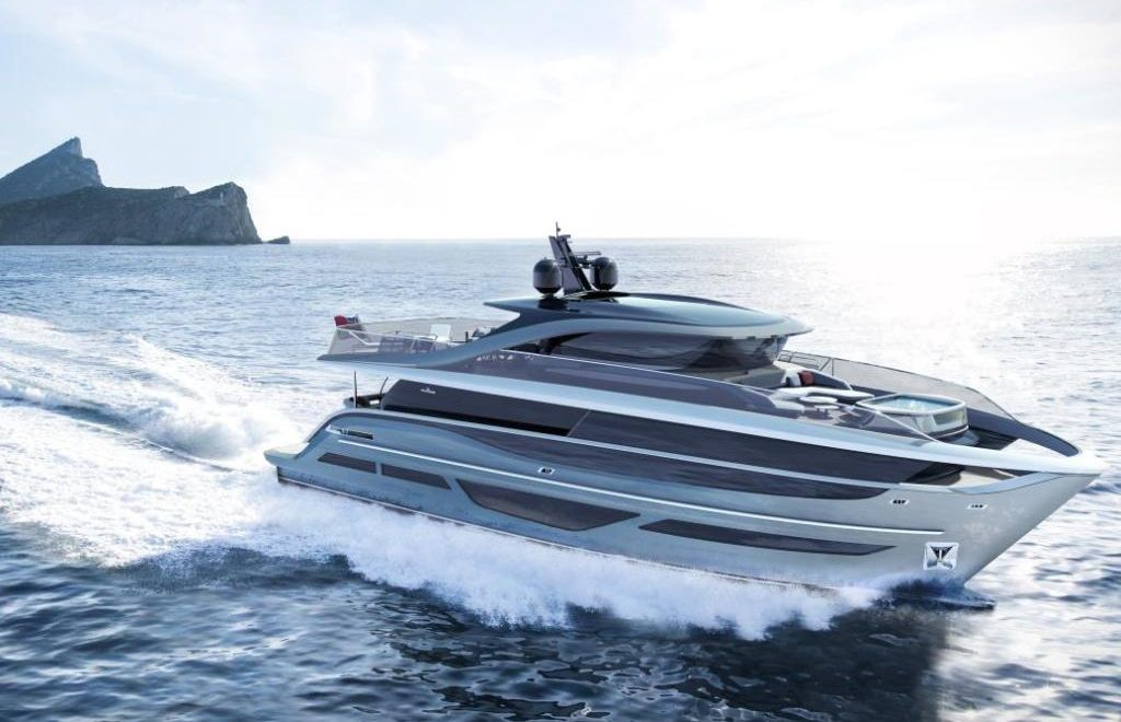An Avant-Garde Yacht Design: Discover The Princess X95 Superyacht