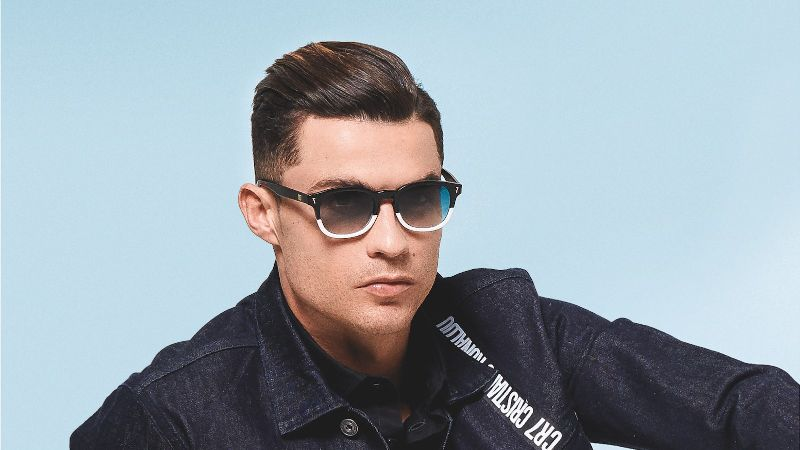 Bold Design Rich Details Cristiano Ronaldo Launches Cr7 Sunglasses