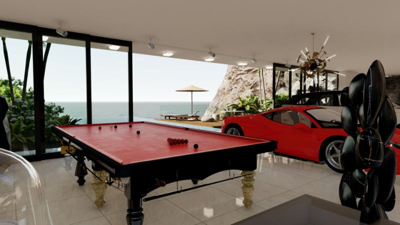 Get The Look Of The Ultimate Men's Cave Inside A Milionaire Home (27) men's cave An Imposing Men's Cave Inside A Millionaire Home in Capri Get The Look Of The Ultimate Mens Cave Inside A Milionaire Home 27