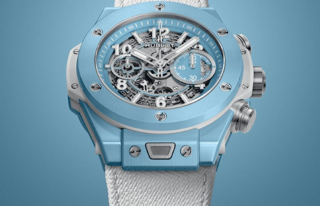 The Big Bang Unico 45 Sky Blue By Hublot: The Perfect Watch For Summer