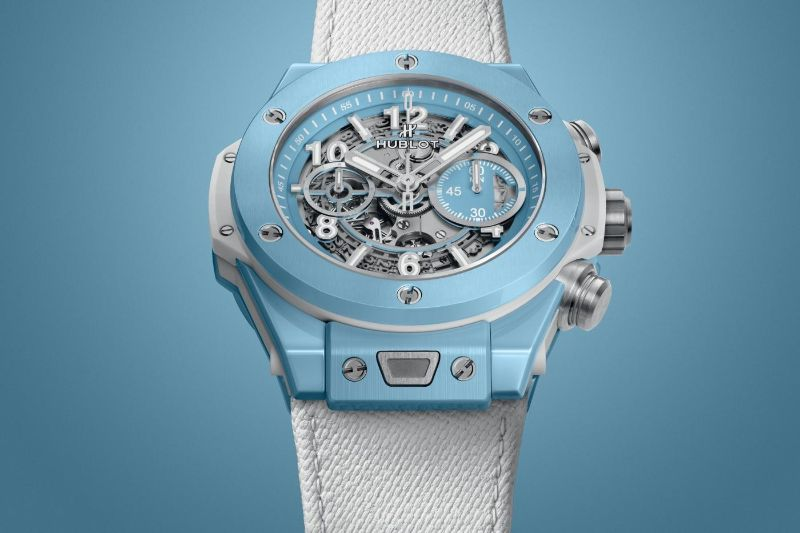 The Big Bang Unico 45 Sky Blue By Hublot: The Perfect Watch For Summer hublot The Big Bang Unico 45 Sky Blue By Hublot: The Perfect Watch For Summer The Big Bang Unico 45 Sky Blue By Hublot The Perfect Watch For Summer 2