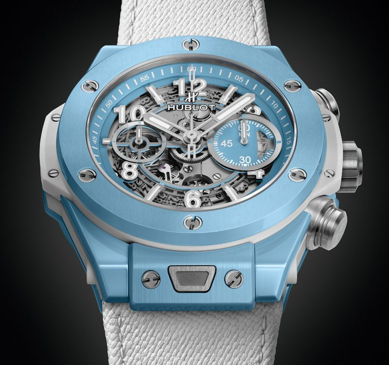 The Big Bang Unico 45 Sky Blue By Hublot: The Perfect Watch For Summer hublot The Big Bang Unico 45 Sky Blue By Hublot: The Perfect Watch For Summer The Big Bang Unico 45 Sky Blue By Hublot The Perfect Watch For Summer 3