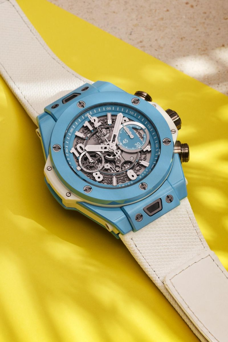 The Big Bang Unico 45 Sky Blue By Hublot: The Perfect Watch For Summer hublot The Big Bang Unico 45 Sky Blue By Hublot: The Perfect Watch For Summer The Big Bang Unico 45 Sky Blue By Hublot The Perfect Watch For Summer 4