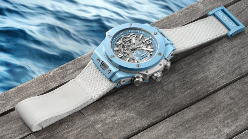 The Big Bang Unico 45 Sky Blue By Hublot: The Perfect Watch For Summer hublot The Big Bang Unico 45 Sky Blue By Hublot: The Perfect Watch For Summer The Big Bang Unico 45 Sky Blue By Hublot The Perfect Watch For Summer 6