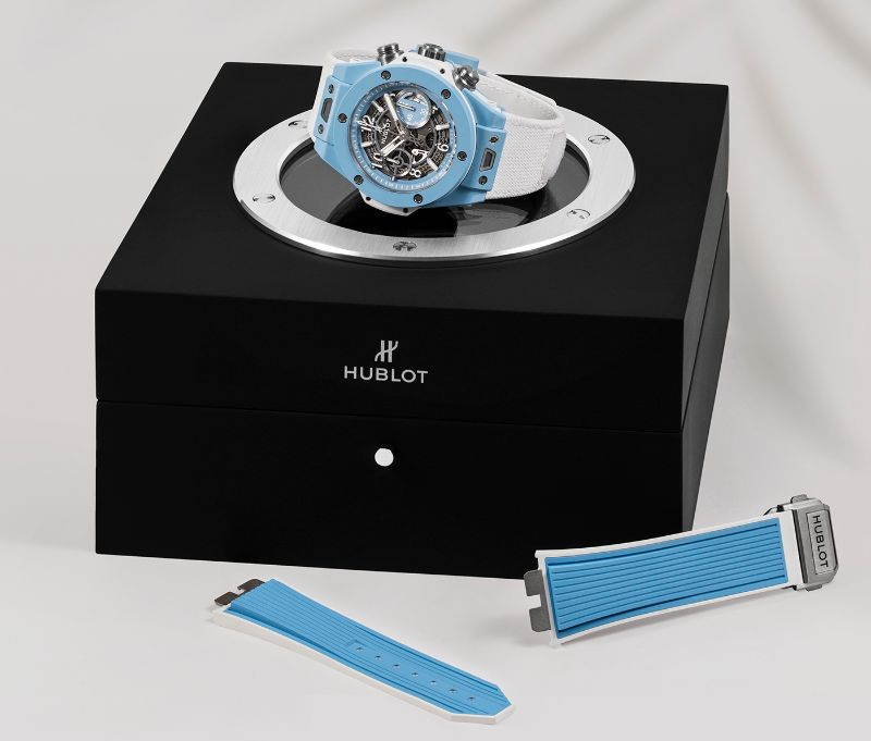 The Big Bang Unico 45 Sky Blue By Hublot: The Perfect Watch For Summer hublot The Big Bang Unico 45 Sky Blue By Hublot: The Perfect Watch For Summer The Big Bang Unico 45 Sky Blue By Hublot The Perfect Watch For Summer 7
