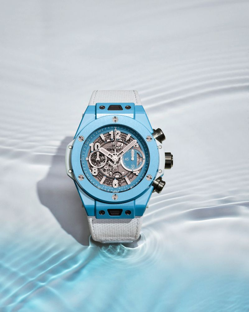 The Big Bang Unico 45 Sky Blue By Hublot: The Perfect Watch For Summer hublot The Big Bang Unico 45 Sky Blue By Hublot: The Perfect Watch For Summer The Big Bang Unico 45 Sky Blue By Hublot The Perfect Watch For Summer 8