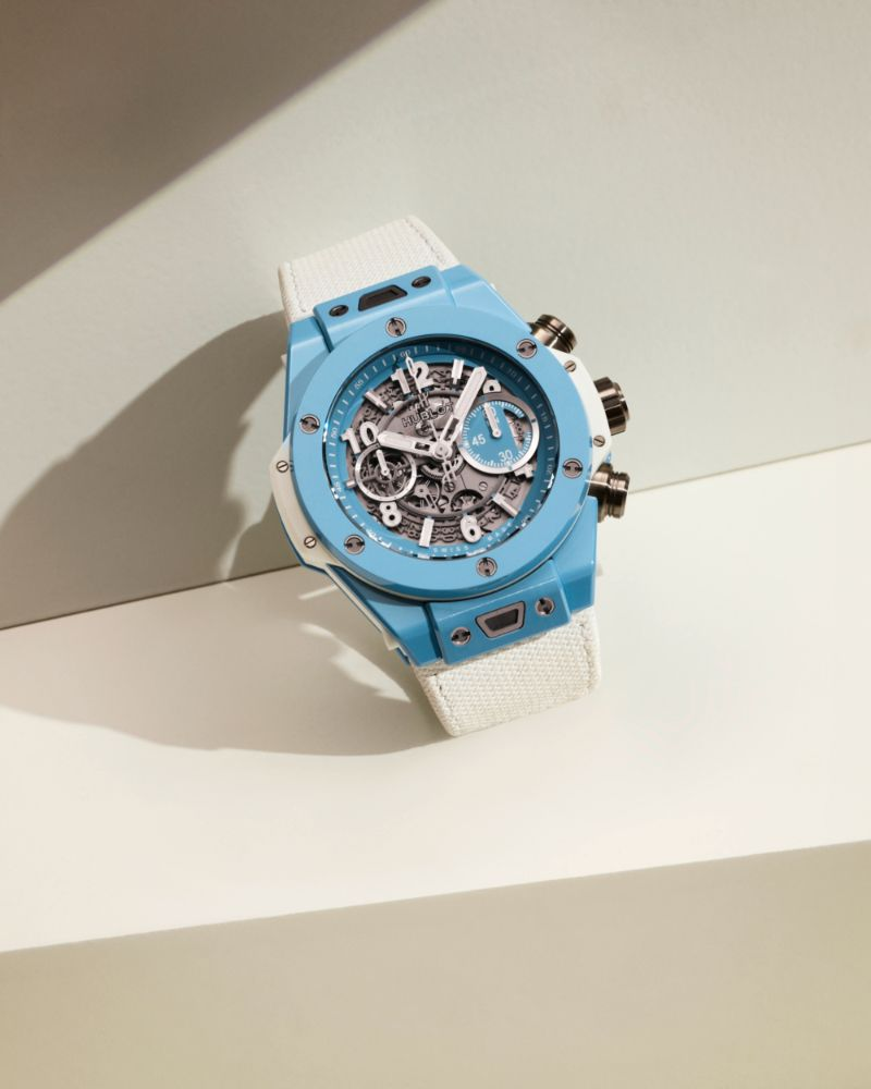 The Big Bang Unico 45 Sky Blue By Hublot: The Perfect Watch For Summer hublot The Big Bang Unico 45 Sky Blue By Hublot: The Perfect Watch For Summer The Big Bang Unico 45 Sky Blue By Hublot The Perfect Watch For Summer 9