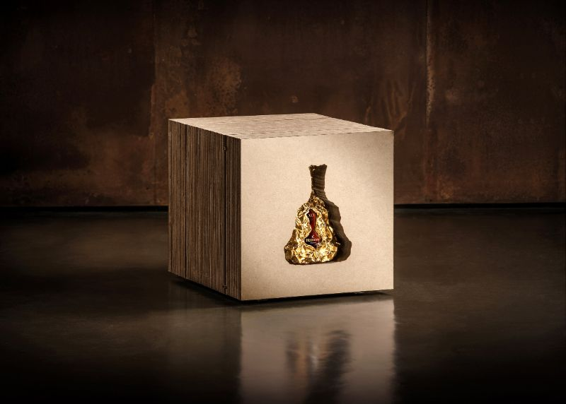 Frank Gehry Designs A Limited Edition Bottle For Hennessy X.O's 150th Anniversary hennessy Hennessy X.O Celebrates Anniversary With A Limited Edition Bottle Frank Gehry Designs A Limited Edition Bottle For Hennessy X