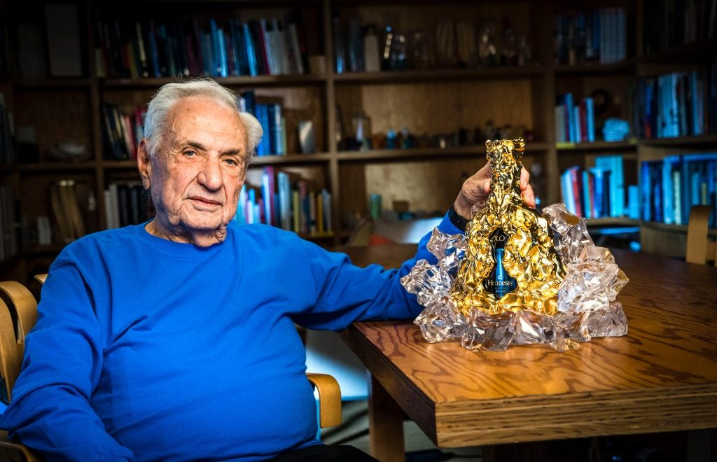Frank Gehry Designs A Limited Edition Bottle For Hennessy X.O's 150th Anniversary