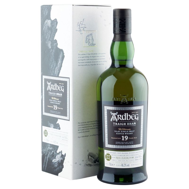The Limited Edition Scotch Whisky To Put On Your Wishlist scotch whisky The Limited Edition Scotch Whisky To Put On Your Wishlist Ardbeg 19 Years Old Traigh Bhan