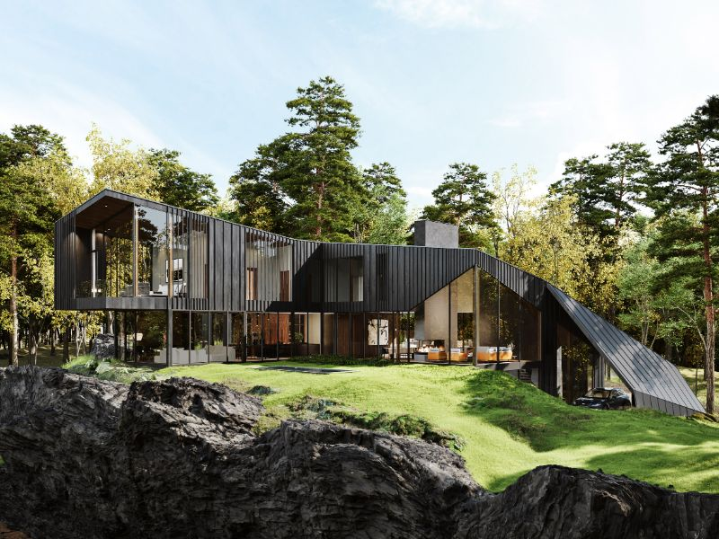 """Aston Martin Designs First Residential Project, Sylvan Rock aston martin """"Sylvan Rock"""" Is The First Residential Project By Aston Martin Aston Martin Designs First Residential Project Sylvan Rock 1"""
