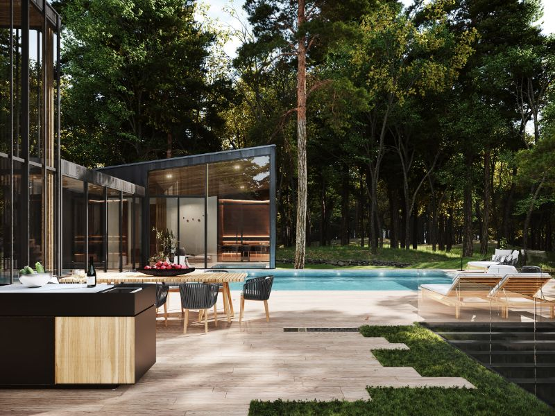 """Aston Martin Designs First Residential Project, Sylvan Rock aston martin """"Sylvan Rock"""" Is The First Residential Project By Aston Martin Aston Martin Designs First Residential Project Sylvan Rock 3"""