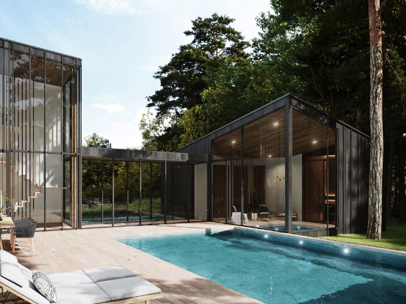 """Aston Martin Designs First Residential Project, Sylvan Rock aston martin """"Sylvan Rock"""" Is The First Residential Project By Aston Martin Aston Martin Designs First Residential Project Sylvan Rock 4"""