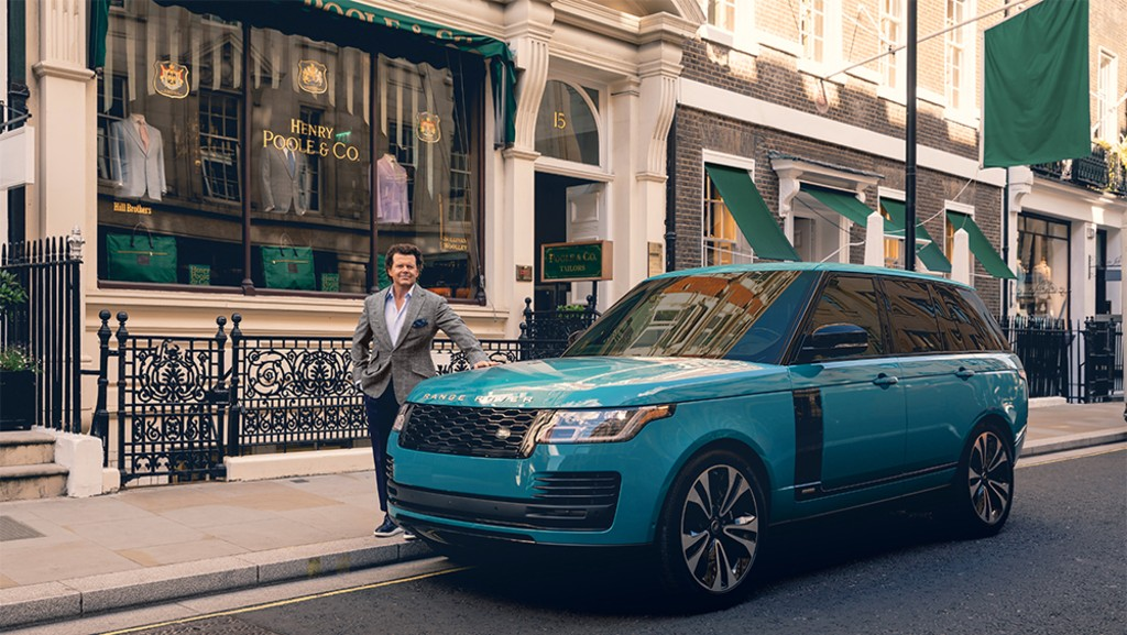 Range Rover and Henry Poole Team Up For Bespoke Sport Coat