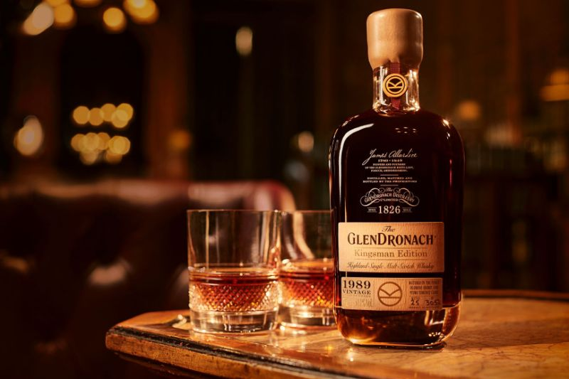 The Limited Edition Scotch Whisky To Put On Your Wishlist scotch whisky The Limited Edition Scotch Whisky To Put On Your Wishlist The GlenDronach Kingsman Edition 1989 Vintage