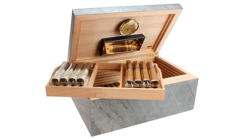 Top 10 Cigar Humidors That You Need to Know cigar humidor Top 10 Cigar Humidors That You Need to Know adorini black 1600 1
