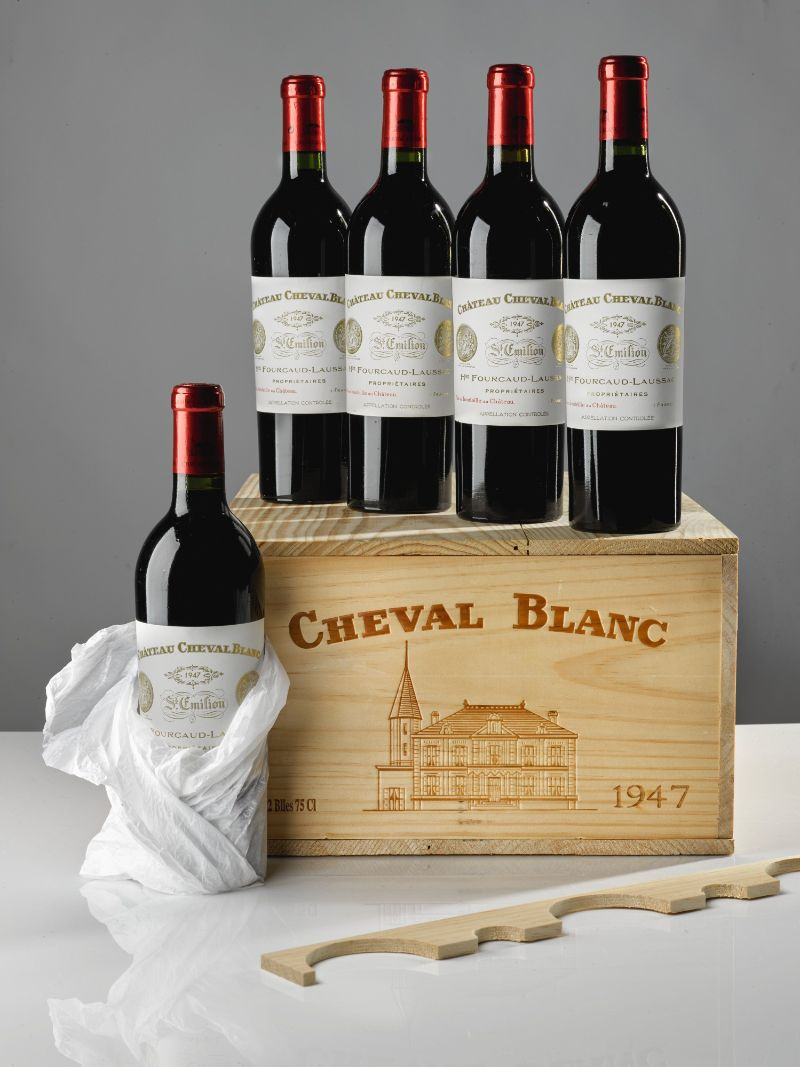 Top 10 Most Expensive Wine Brands in the World expensive wine Top 10 Most Expensive Wine Brands in the World Cheval Blanc St Emilion 1947 1