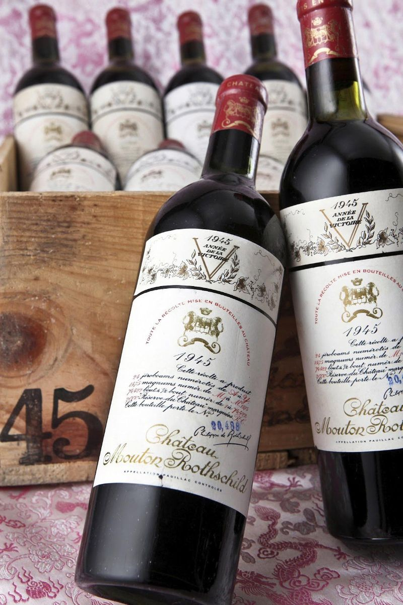 Top 10 Most Expensive Wine Brands in the World expensive wine Top 10 Most Expensive Wine Brands in the World Jeroboam of Chateau Mouton Rothschild 1