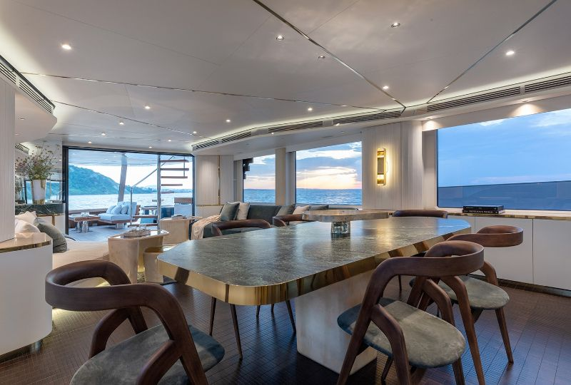 Vincenzo De Cotiis Crafts His First Yacht Interior For Azimut vincenzo de cotiis Vincenzo De Cotiis Crafts His First Yacht Interior For Azimut Vincenzo De Cotiis Crafts His First Yacht Interior For Azimut 4