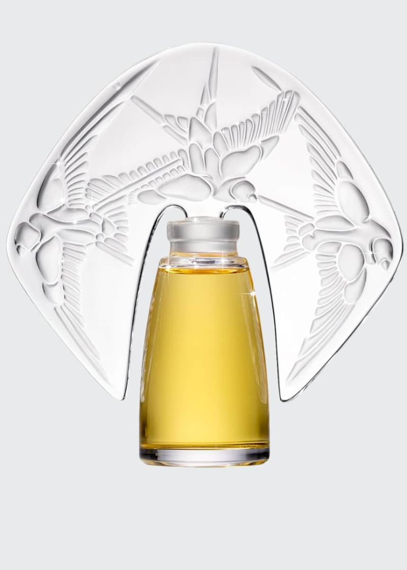 The Most Expensive Perfumes expensive perfume The Most Expensive Perfumes Amorem Rose Parfum presented in a Lalique Crystal Flacon