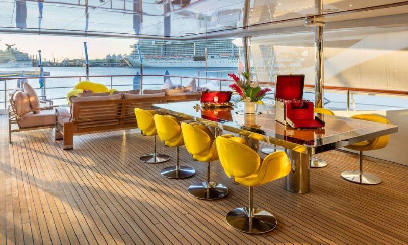 Louis Vuitton Brings Savoir-Faire To 47-Foot Benetti in Miami Art Week
