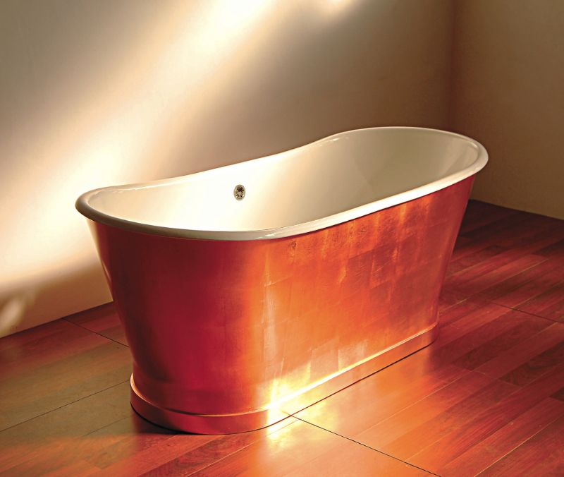 The Most Luxurious And Expensive Bathtubs In The World expensive bathtub The Most Luxurious And Expensive Bathtubs In The World Kallista Archeo Copper Bathtub