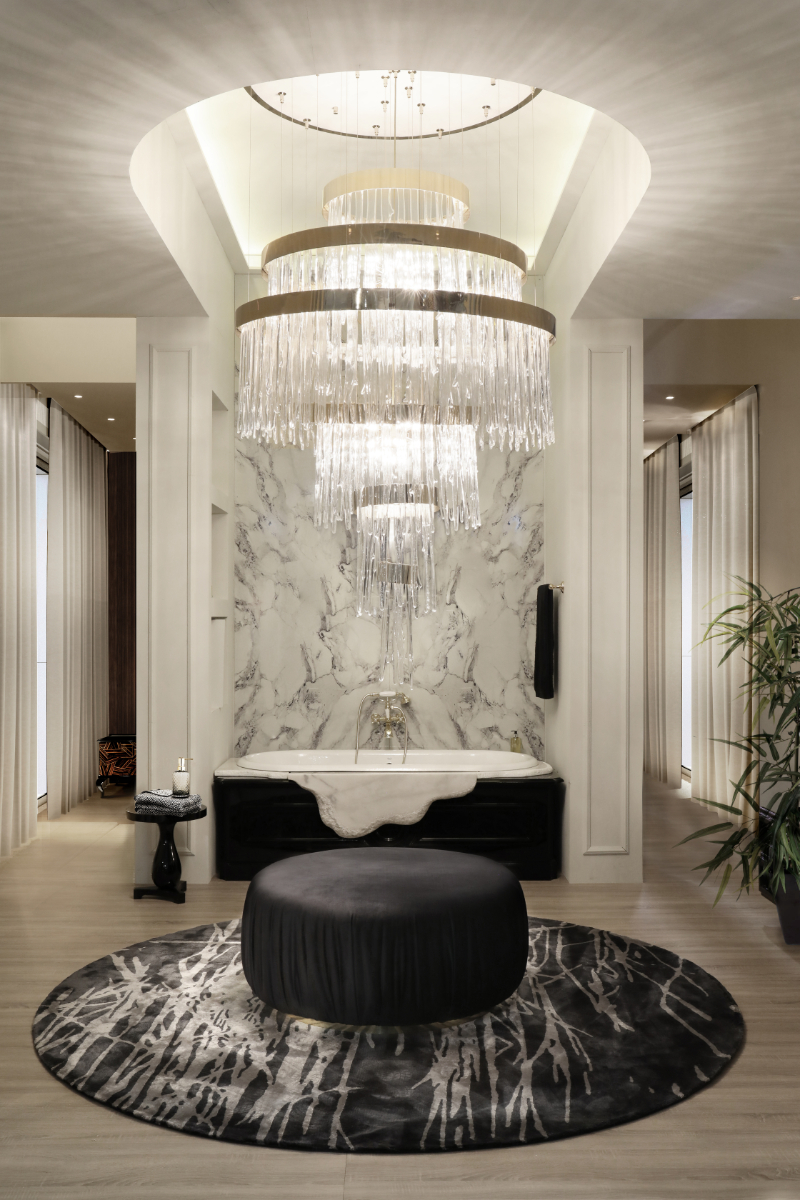 The Most Luxurious And Expensive Chandeliers For An Imposing Interior expensive chandelier The Most Luxurious And Expensive Chandeliers For An Imposing Interior 38 abstract fusion bathtub 1 HR 1