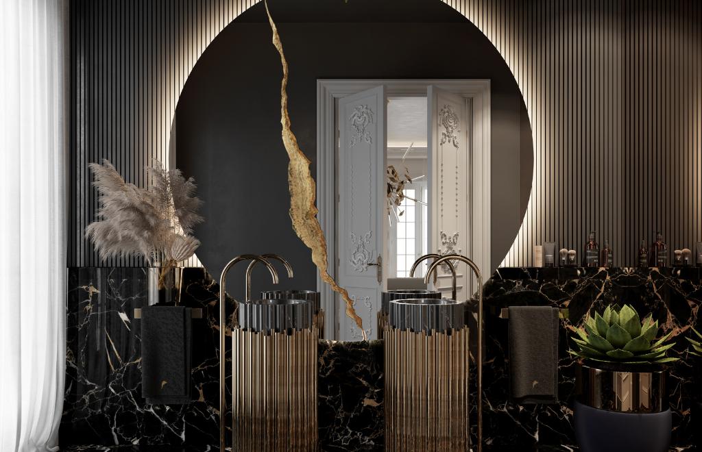 Step Inside A Parisian Multi-Millionaire Luxury Bathroom