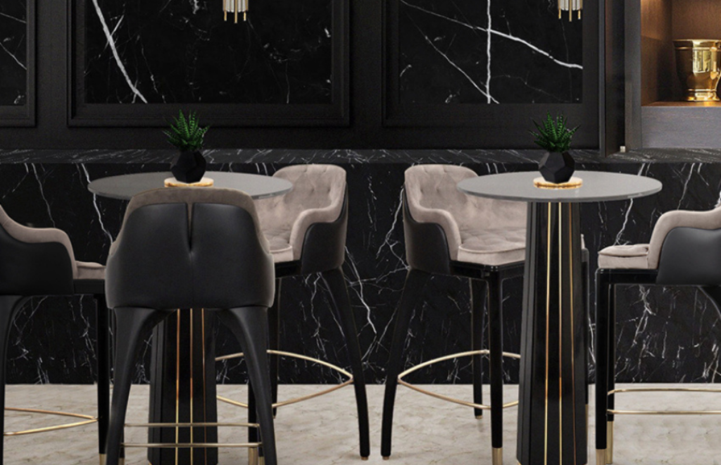 10 Luxury Bar Tables For Your Private Home Bar