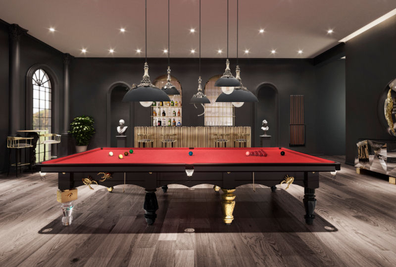 15 Furniture Ideas To Complement Your Luxury Gaming Room luxury gaming room 15 Furniture Ideas To Upscale Your Luxury Gaming Room ambience metamorphosis snooker 2 1