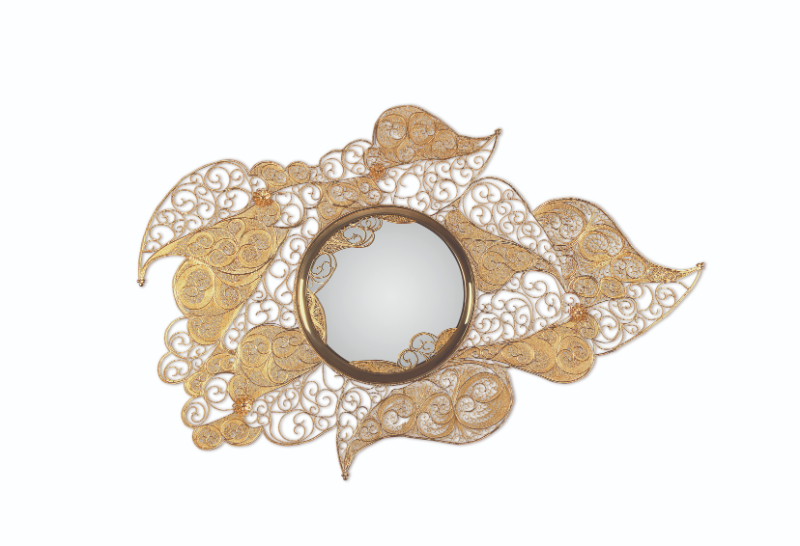 Discover The Most Impressive Luxury Mirrors luxury mirror Discover The Most Impressive Luxury Mirrors filigree mirror 01 1