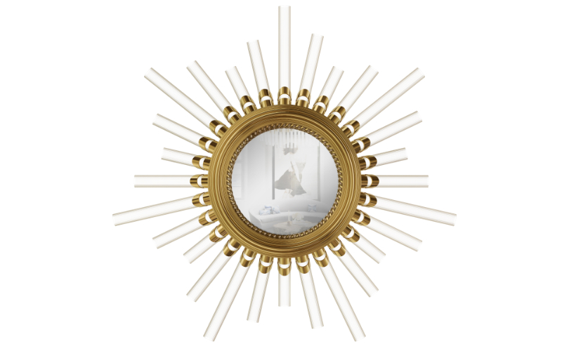 Discover The Most Impressive Luxury Mirrors luxury mirror Discover The Most Impressive Luxury Mirrors majestic wall light mirror 01 1